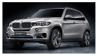 New BMW X5 eDrive Hybrid