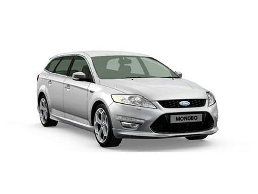 silver ford mondeo