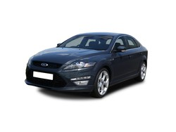 blue ford mondeo