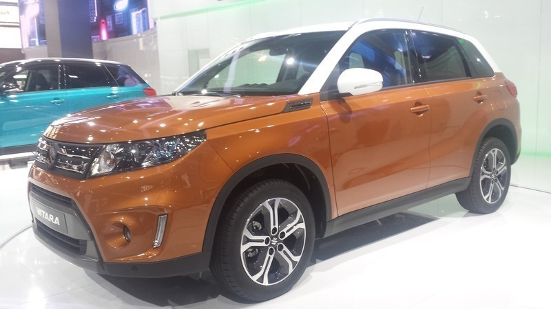 New Orange Suzuki Vitara