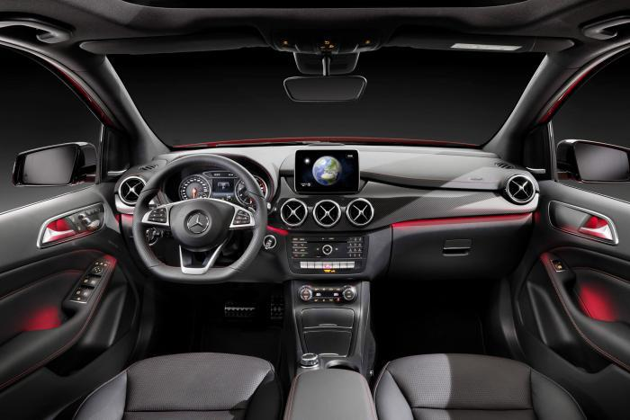 Mercedes Benz Cabin