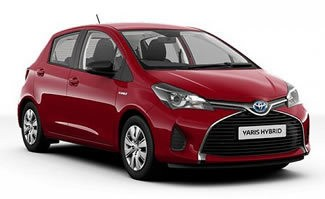 New Toyota Yaris Hybrid Active