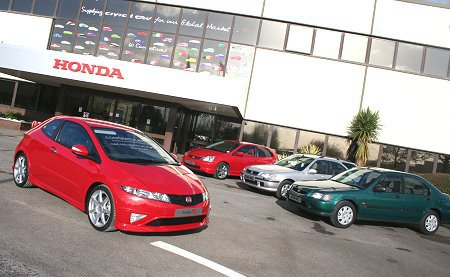 honda swindon factory