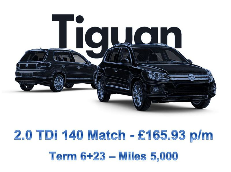 Tiguan lease deal