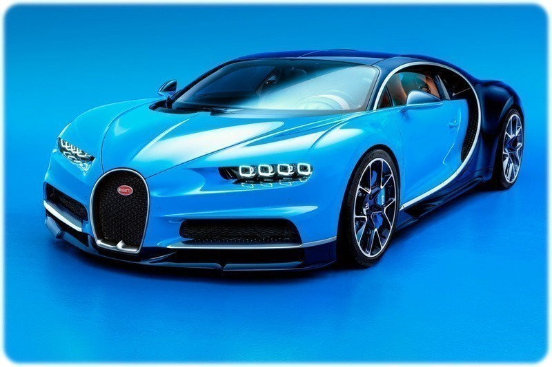 New-Car-Bugatti-Chiron-Front-Side